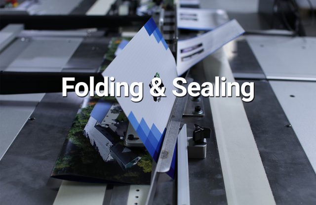 folding and sealing
